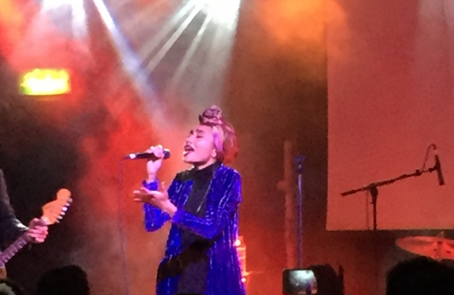 Yuna Shines in London
