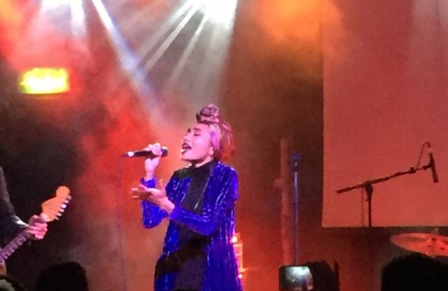 Yuna Shines in London