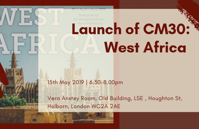 Launch of CM30: West Africa