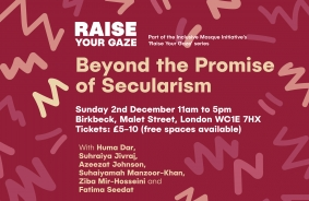 #RaiseYourGaze: Beyond the Promise of Secularism